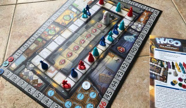 Gruselparty mit HUGO – Das Schlossgespenst von AMIGO Spiele